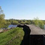 Стена Староладожской крепости, якобы 12 век