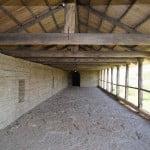 Проход по стене Староладожской крепости