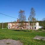 Староладожский Успенский женский монастырь - разрушенный жилой корпус