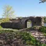 Торговые ворота в Староладожской крепости