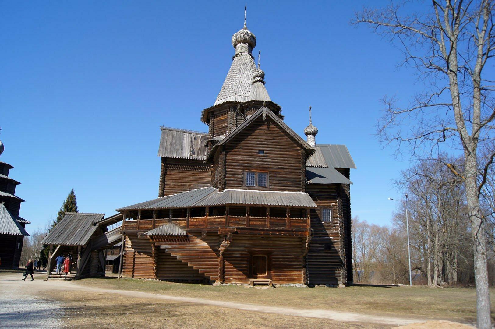 Церковь Рождества Богородицы, Музей деревянного зодчества в Великом Новгороде