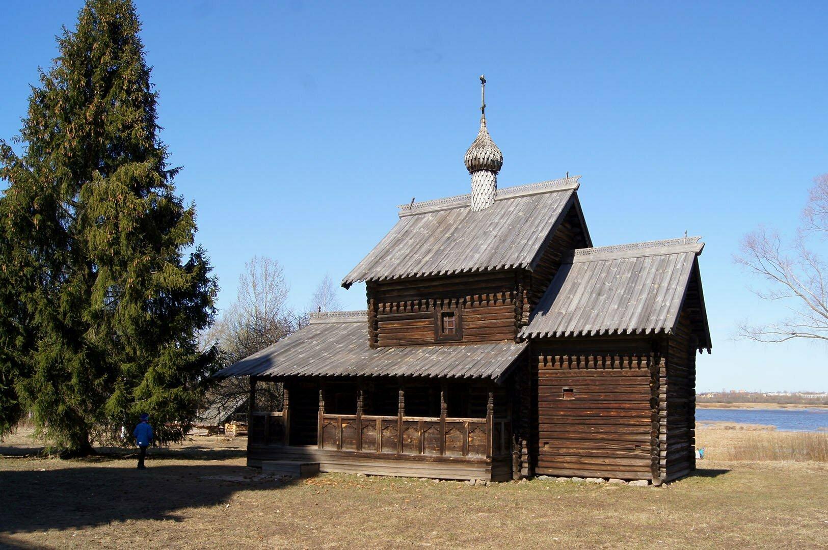 Церковь Успения (1599 год), Музей деревянного зодчества в Великом Новгороде