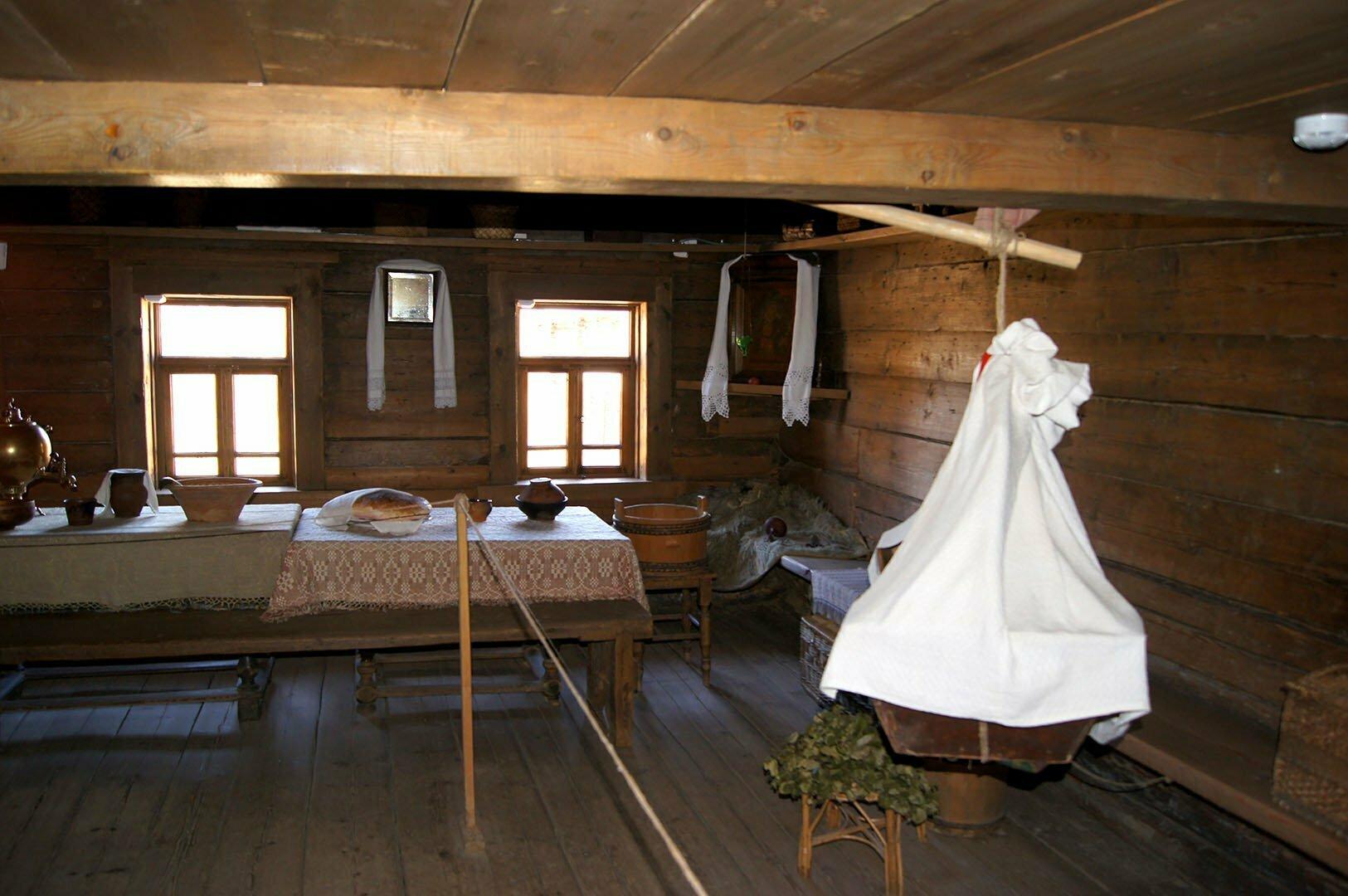 Изба Шкипарева П.А. Музей деревянного зодчества в Великом Новгороде