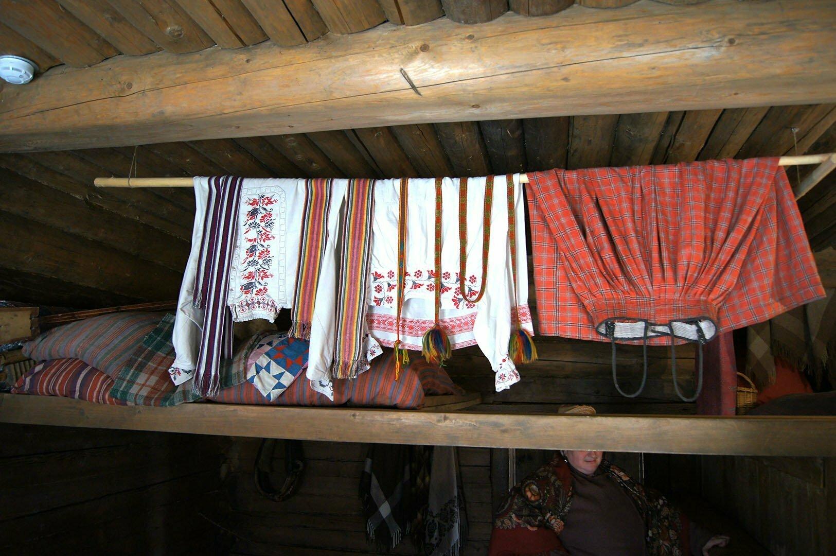 Приданное, изба Утенковой, Музей деревянного зодчества в Великом Новгороде