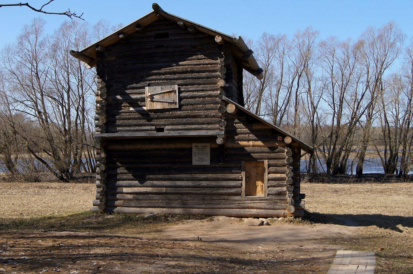 Овин, Музей деревянного зодчества в Великом Новгороде