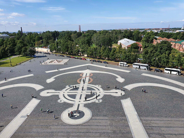 Якорная площадь, Кронштадт