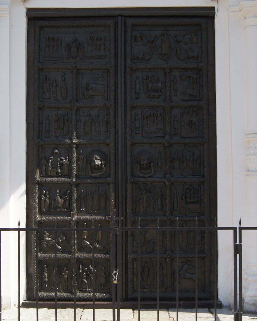 Магдебургские врата, Софийский собор, В.Новгород