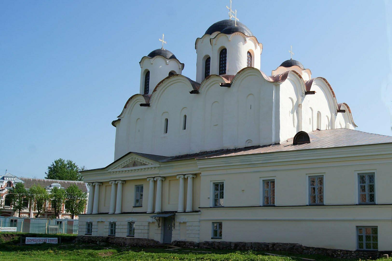 Никольский собор в В. Новгороде