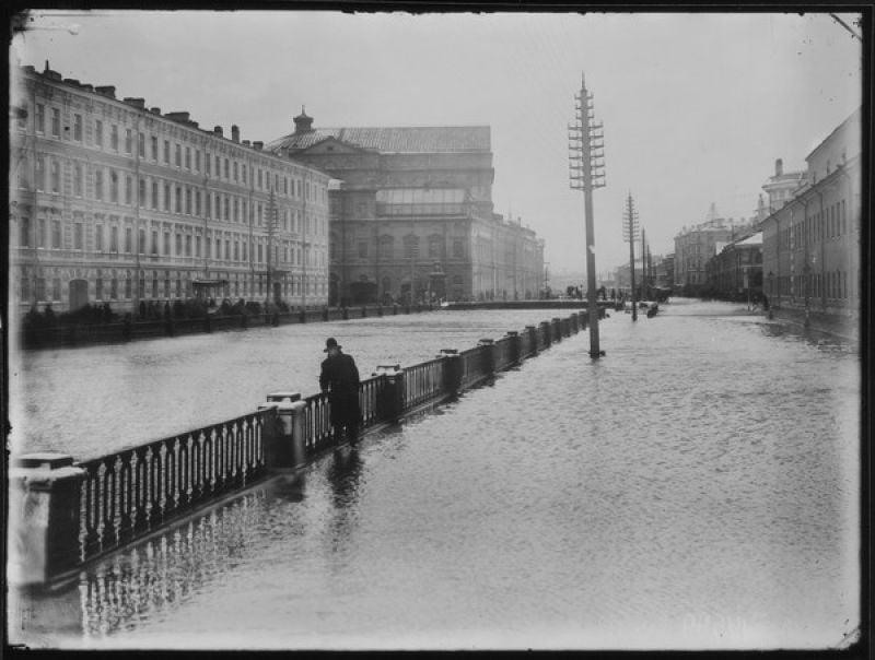 Наводнение в Ленинграде 17 ноября 1903 года