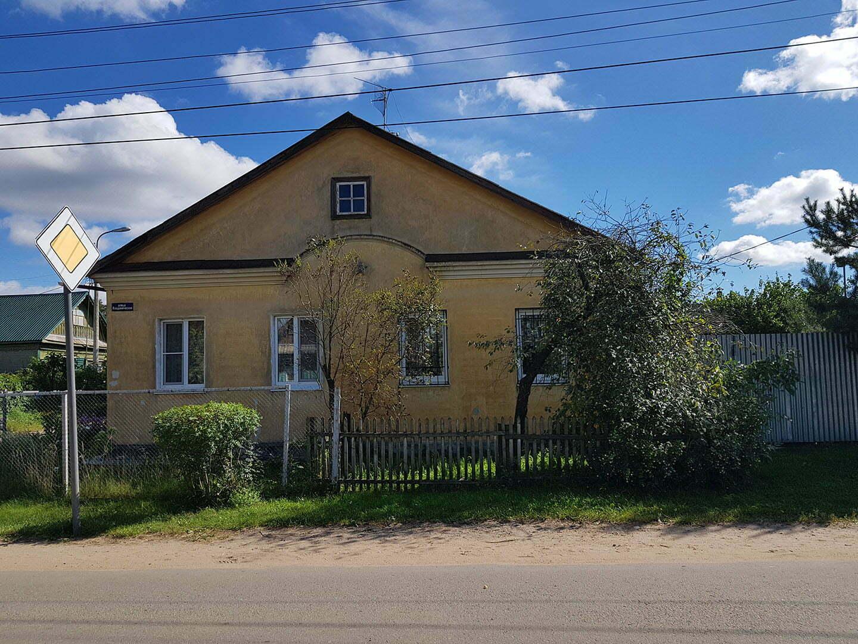 Бывший дом бабушки мужа в Твери