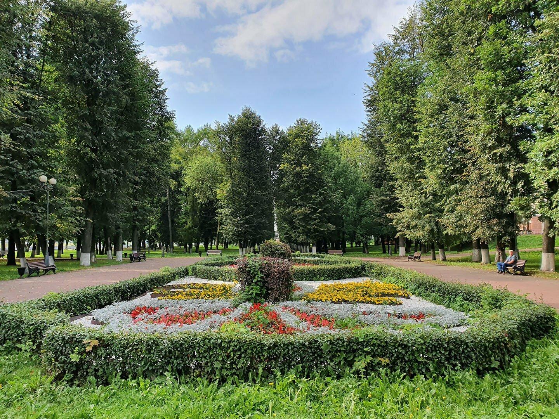 Парк у набережной Афанасию Никитину