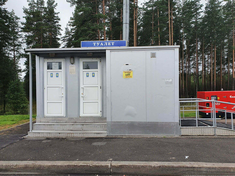 Туалет на М11