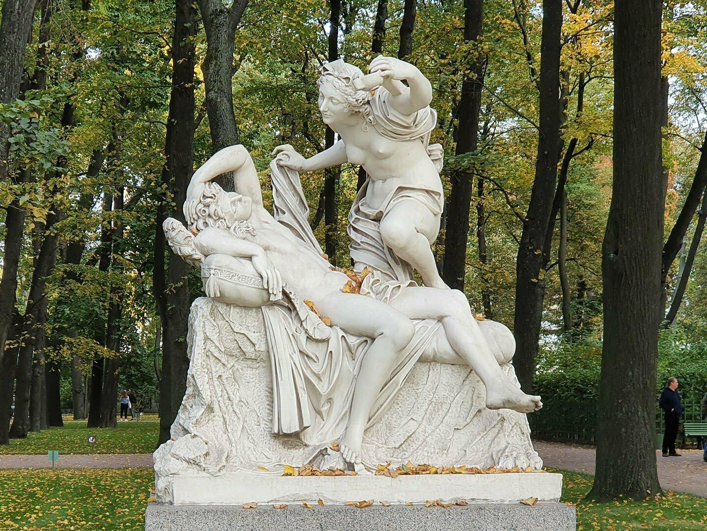 Амур и Психея. Школа Бернини, Италия, конец XVIII века.