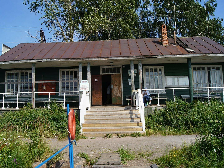 Лодочная станция в Приозерске на Вуоксе