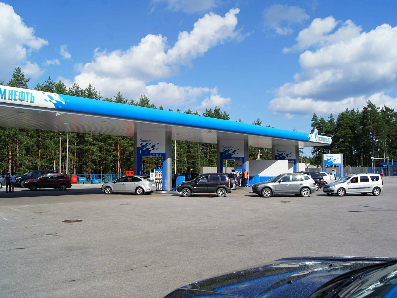 АЗС Газпром-нефть в Приозерске