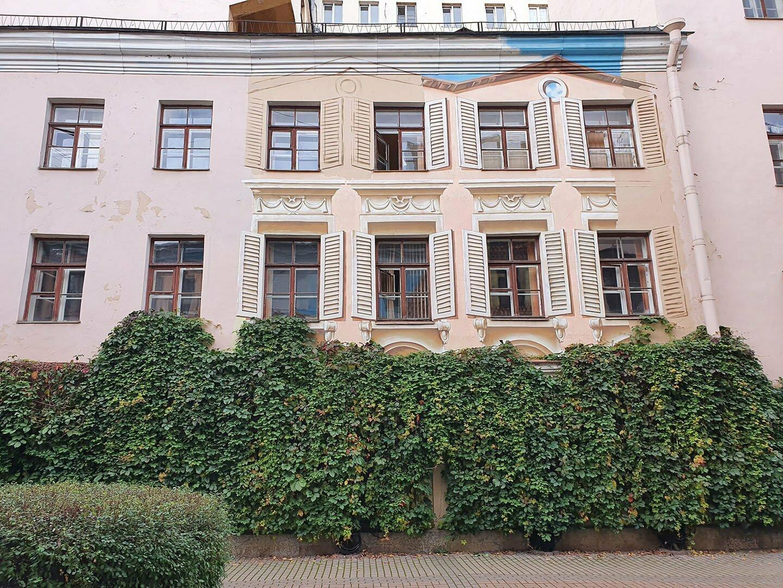 Секретный Итальянский дворик в Питере