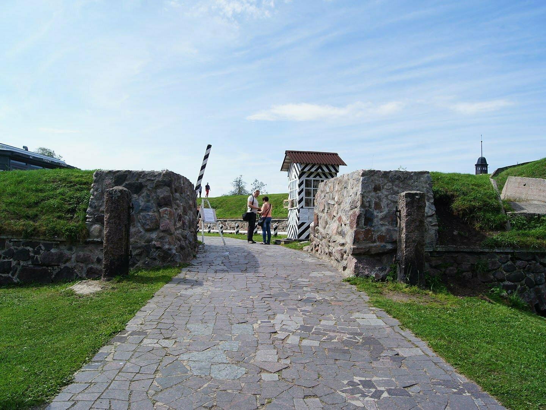 Вход в крепость Корела