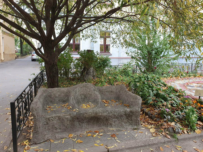 Скамейка в Мозаичном дворике