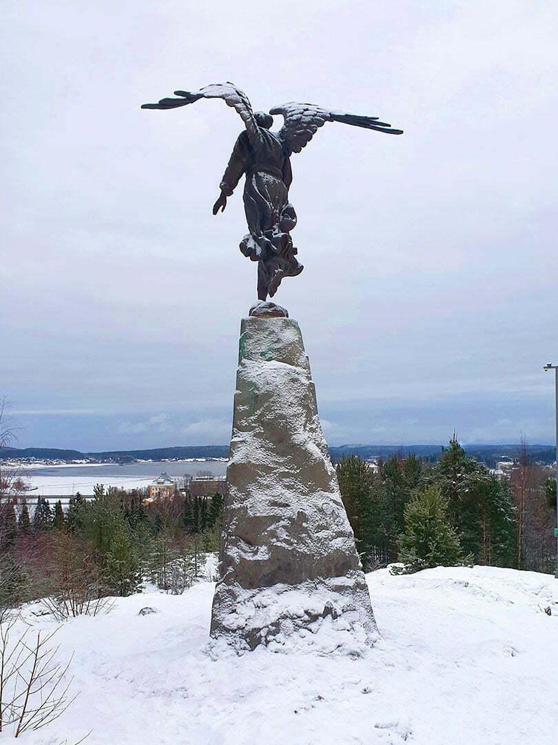 Ангел на горе Кухавуори