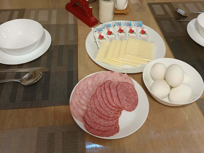 Завтрак в отеле Сеурахуоне