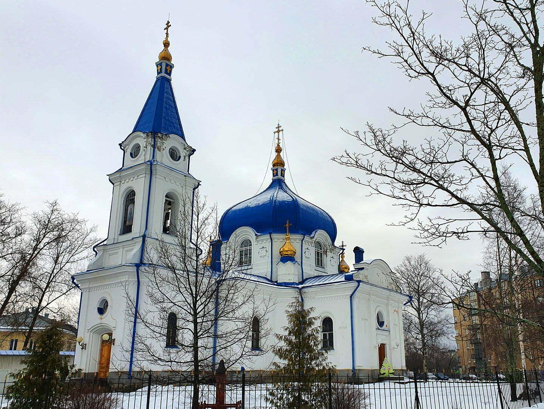 Церковь Святого Николая, архитектор Н.П. Грибенко, Сортавала