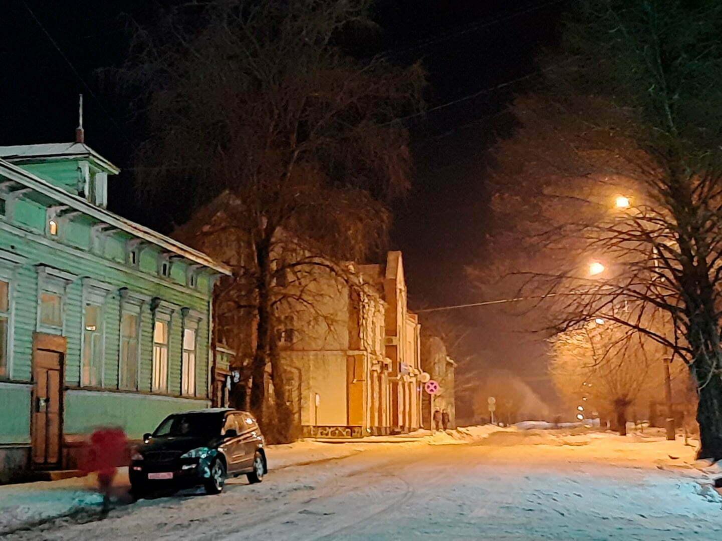 Улица Гагарина в Сортавале
