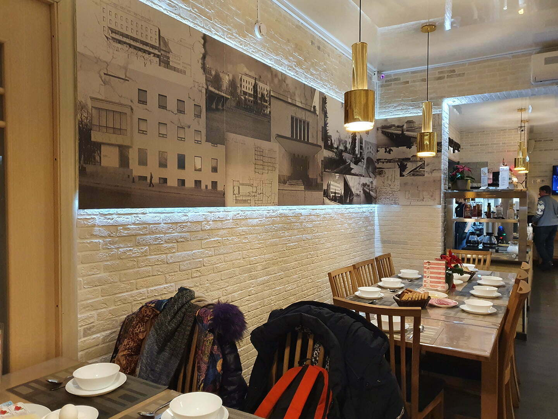 Интерьер кафе отеля Сеурахуоне
