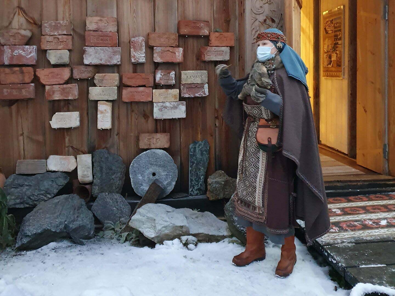 Музей у Мастера в Карелии, национальный костюм