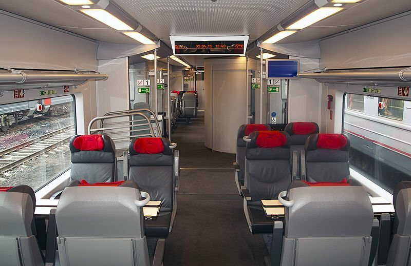 Ласточка вагон первого класса