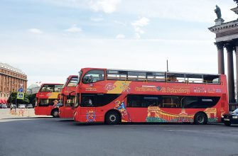Автобус Сity Sightseen в Санкт-Петербурге