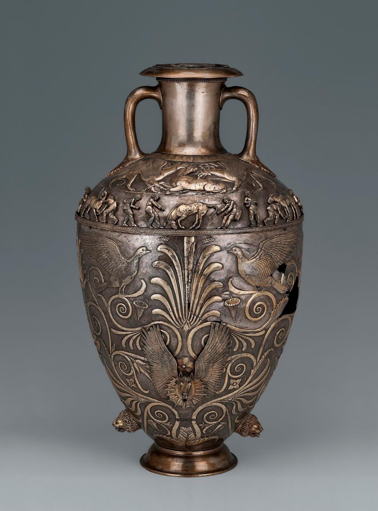Ваза или амфора из Чертомлыкского кургана, IV век до н.э.
