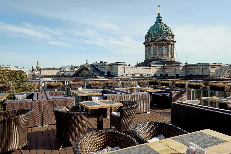 Ресторан Терасса с видом на Казанский собор