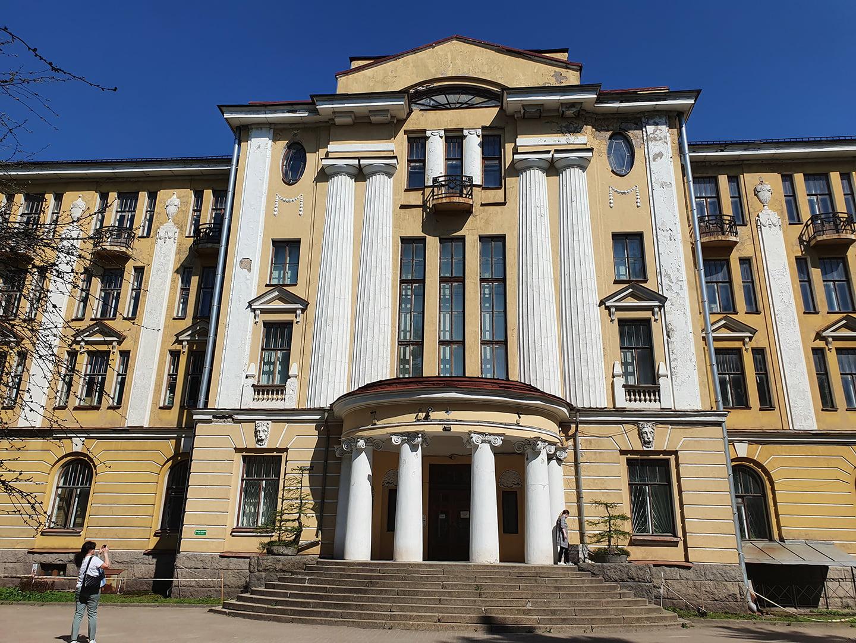 Здание Ботанического института им. В.Л. Комарова